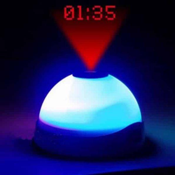 Будилник с LED Светлина и Прожектор