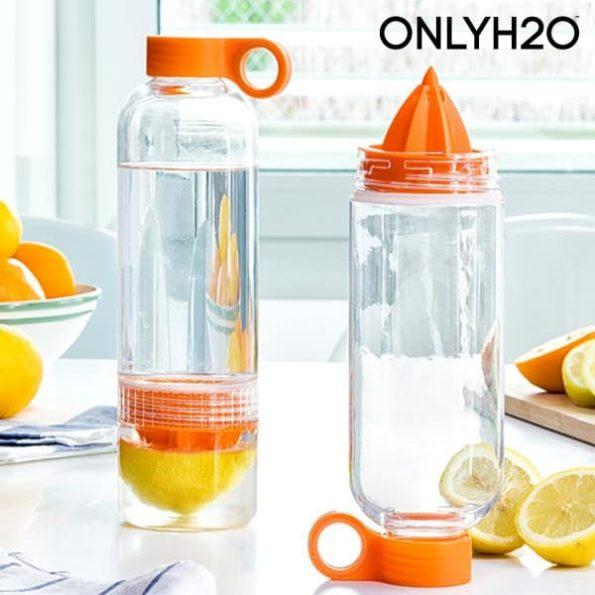 Бутилка със Сокоизтисквачка за Цитрусови Плодове Sensations Juicer