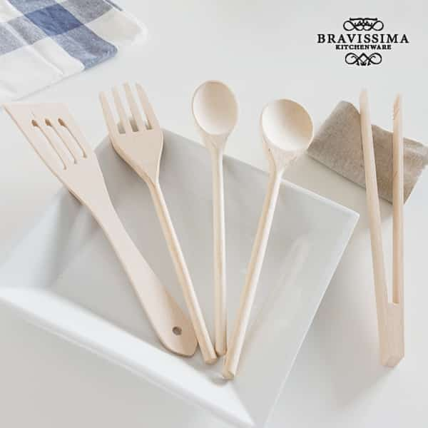 Дървени Кухненски Прибори Bravissima Kitchen