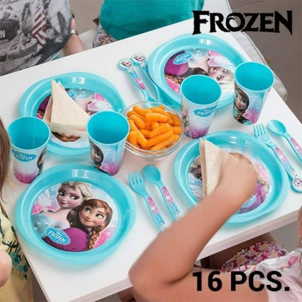 Детски Комплект Прибори Frozen (16 части)