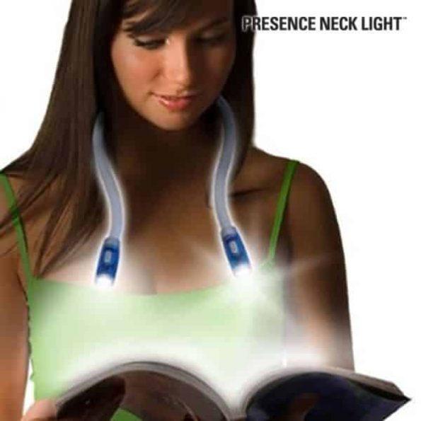 Гъвкава LED Лампа за Четене Presence Light