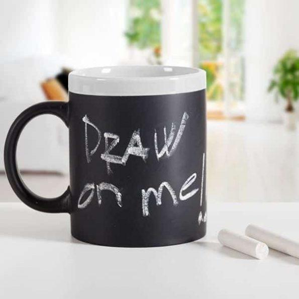 Керамична Чаша за Писане с Тебешир