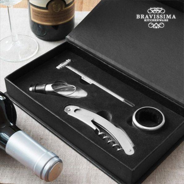 Комплект Аксесоари за Вино Bravissima Kitchen