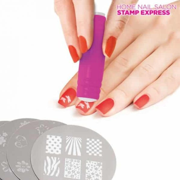 Комплект за Декорация на Нокти Stamp Express