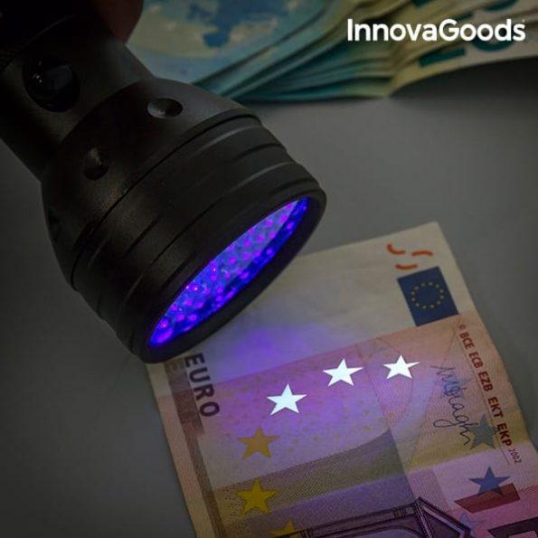 LED Фенерче с Ултравиолетова Светлина InnovaGoods