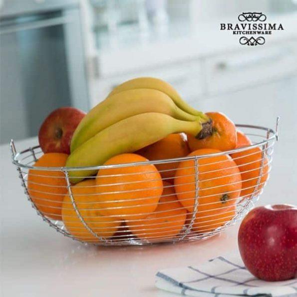 Метална Купа за Плодове Bravissima Kitchen