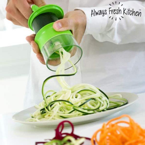 Мини Уред за Рязане на Зеленчуци на Спирали