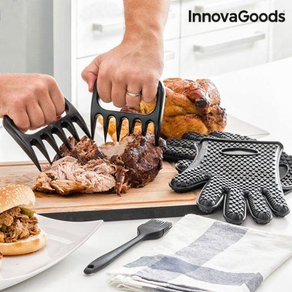 Нокти за Месо с Ръкавици и Четка