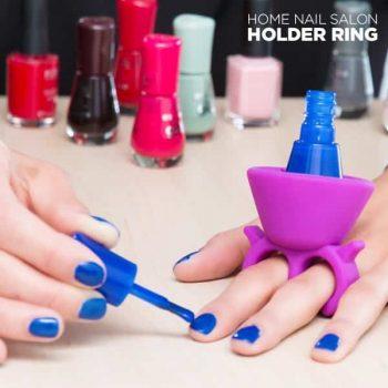Пръстен Поставка за Лак за Нокти Home Nail Salon