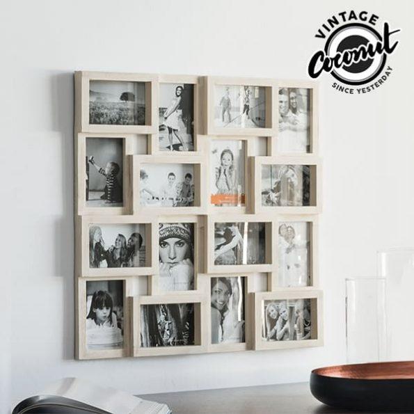 Рамка за Снимки Puzzle Vintage Coconut (16 снимки)