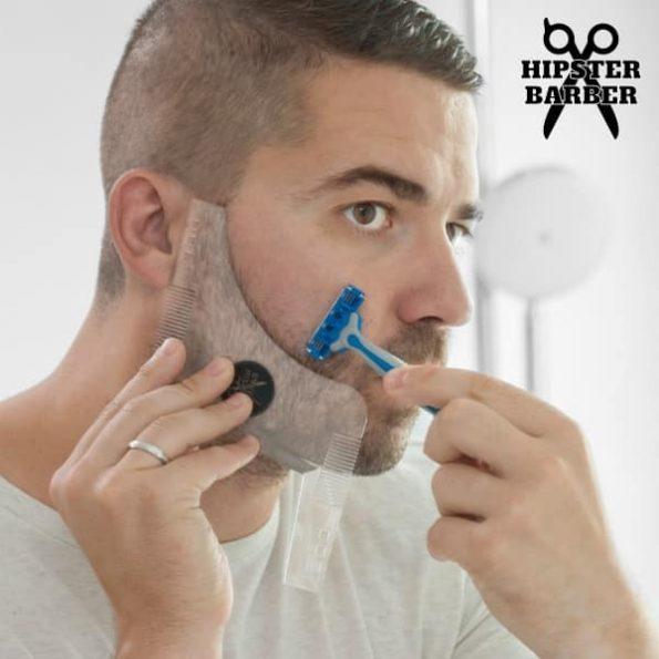 Уред за Оформяне на Брада с Гребен Beard Template