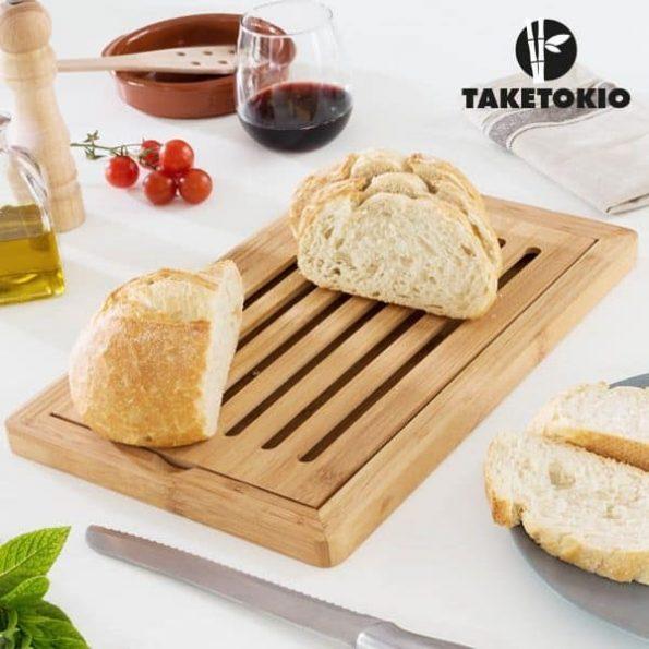 Бамбукова Дъска за Хляб
