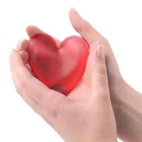 Топилка за Ръце във Формата на Сърце